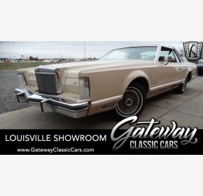 1979 Lincoln Continental for sale 101246312