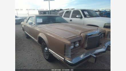 1979 Lincoln Continental for sale 101254125