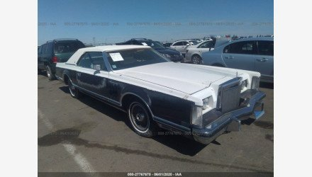 1979 Lincoln Continental for sale 101333623