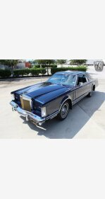 1979 Lincoln Continental for sale 101441892