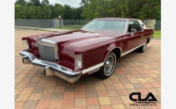 1979 Lincoln Continental for sale 101605867