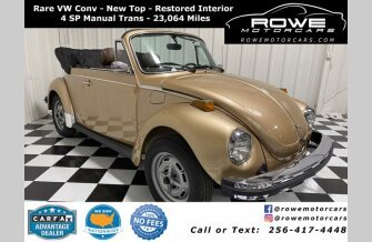 1979 Volkswagen Beetle Convertible for sale 101395206