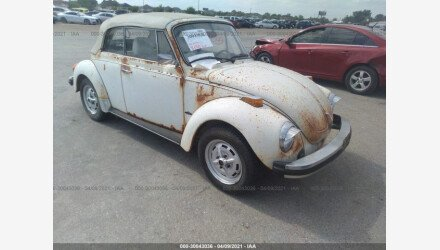 1979 Volkswagen Beetle for sale 101490531