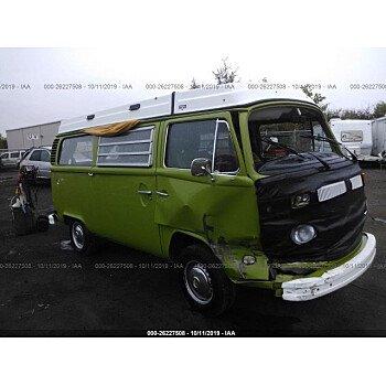 1979 Volkswagen Vans for sale 101222287