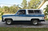 1980 Chevrolet Blazer 2WD 2-Door for sale 101438977