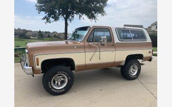 1980 Chevrolet Blazer 4WD 2-Door for sale 101548716
