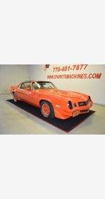 1980 Chevrolet Camaro for sale 101223601
