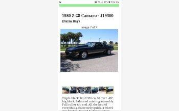 1980 Chevrolet Camaro Z28 Coupe for sale 101344378