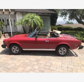 1980 FIAT 2000 Spider for sale 101371224