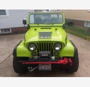 1980 Jeep CJ-7 for sale 101031811