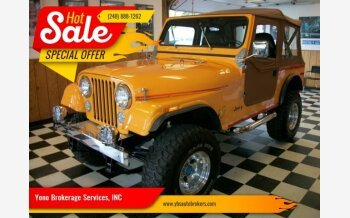 1980 Jeep CJ-7 for sale 101224941