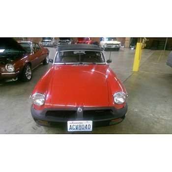 1980 MG MGB for sale 100827466
