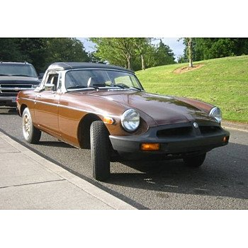 1980 MG MGB for sale 101033621