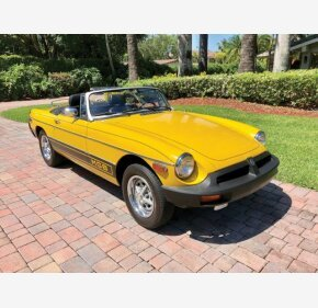 1980 MG MGB for sale 101106245