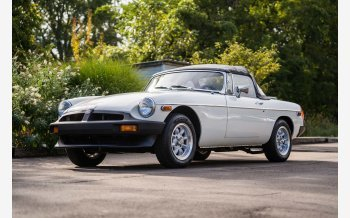 1980 MG MGB for sale 101603908