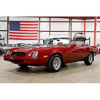 1981 Chevrolet Camaro Berlinetta Coupe for sale 101221690