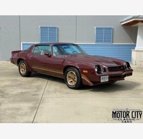 1981 Chevrolet Camaro Coupe for sale 101412490