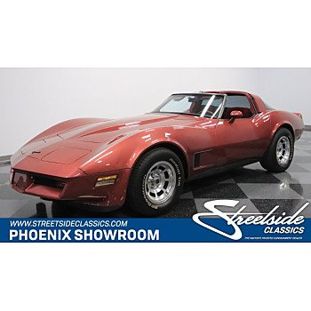 1981 Chevrolet Corvette for sale 100981104