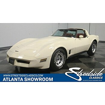 1981 Chevrolet Corvette Coupe for sale 101033326