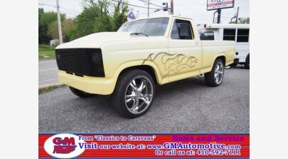 1981 Ford F100 2WD Regular Cab for sale 101132785