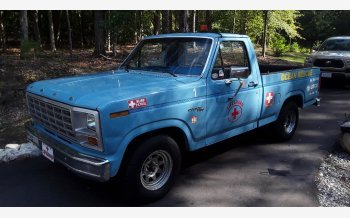 1981 Ford F100 2WD Regular Cab for sale 101618846