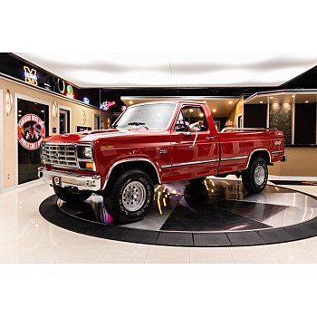 1981 Ford F150 4x4 Regular Cab for sale 101283728