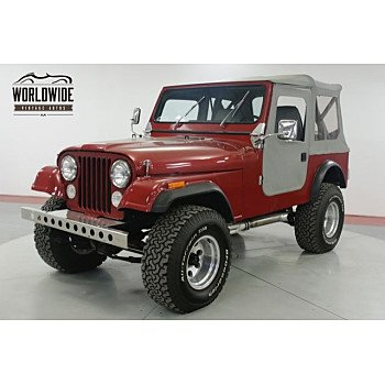 1981 Jeep CJ 7 for sale 101113830