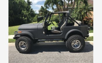 1981 Jeep CJ 7 for sale 101226508