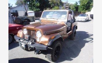 1981 Jeep CJ 7 for sale 101360015