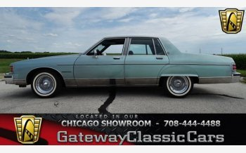 1981 Pontiac Bonneville Brougham Sedan for sale 101012623