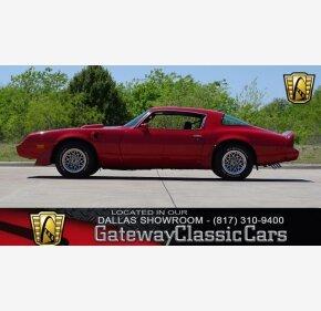 1981 Pontiac Firebird Trans Am for sale 100981563