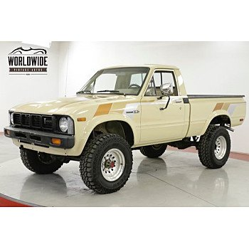 1981 Toyota Pickup 4x4 Regular Cab Deluxe for sale 101181650