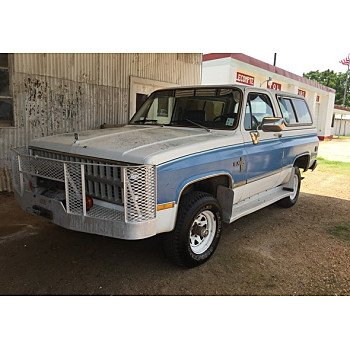 1982 Chevrolet Blazer 4WD for sale 101018857