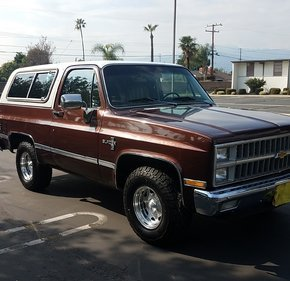 1982 Chevrolet Blazer 2WD for sale 101113713