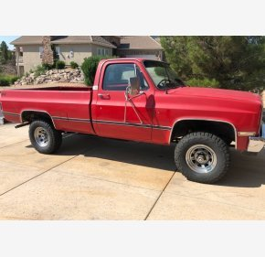 1982 Chevrolet C/K Truck 4x4 Regular Cab 1500 for sale 101089145