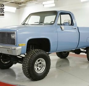 1982 Chevrolet C/K Truck 4x4 Regular Cab 1500 for sale 101196527