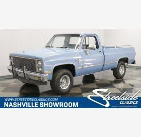 1982 Chevrolet C/K Truck 4x4 Regular Cab 1500 for sale 101202692
