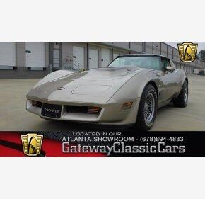 1982 Chevrolet Corvette Coupe for sale 100976274