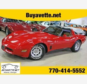 1982 Chevrolet Corvette Coupe for sale 100996542