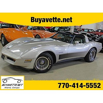1982 Chevrolet Corvette Coupe for sale 101127911