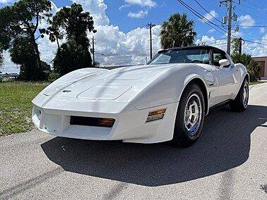1982 Chevrolet Corvette for sale 101609206