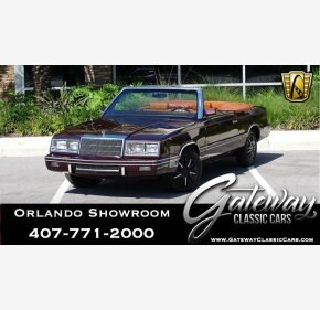 1982 Chrysler LeBaron for sale 101031048