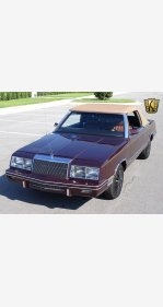 1982 Chrysler LeBaron Medallion Convertible for sale 101031048