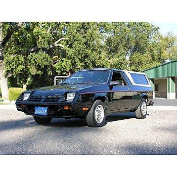 1982 Dodge Rampage Sport for sale 101214058