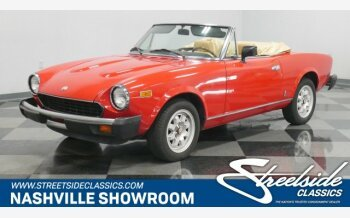 1982 FIAT 2000 Spider for sale 101166651