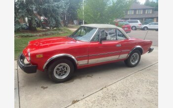 1982 FIAT 2000 Spider for sale 101360920