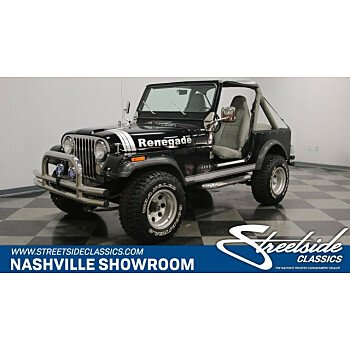 1982 Jeep CJ 7 for sale 101054261
