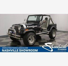 1982 Jeep CJ 7 for sale 101054261