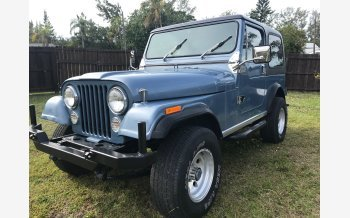 1982 Jeep CJ 7 for sale 101093022
