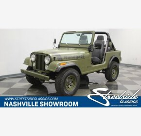 1982 Jeep CJ 7 for sale 101150242